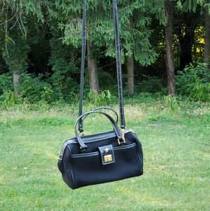 ETIENNE AIGNER BLACK CROSSBODY